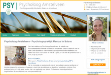 Website van Psycholoog Amstelveen